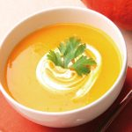 Pumpkin puree soup