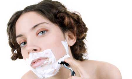 Treatment of hirsutism in women