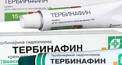 Terbinafine ointment: instructions, application of nail and foot fungus