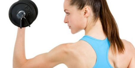 Exercises with dumbbells for women to lose weight at home